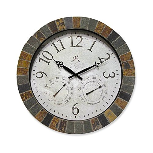 Jewelry Adviser Gifts Slate Mosaic Border Wall Clock