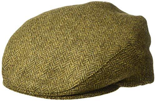 - Biddy Murphy Irish Hats for Men Mens Flat Cap Brown Herringbone 100% Wool Made in Ireland