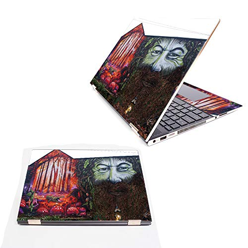 """MightySkins Skin Compatible with HP Spectre x360 15.6"""" (2018) - Tree Man 