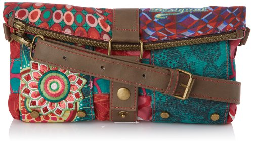 Desigual Cluch Annelise Cross Body Bag,Scarlet Red,One Size