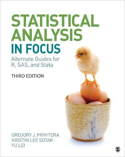 Statistical Analysis ''In Focus'': Alternate Guides for R, SAS, and Stata for Statistics for the Behavioral Sciences