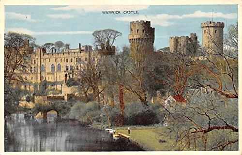 Warwick Post - Scotland, UK Old Vintage Antique Post Card Warwick Castle 1959
