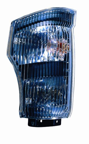 Signal Park Light Assembly (Depo 313-1511L-AS Isuzu N-Series/GMC W-Series Driver Side Replacement Parking/Signal Light Assembly)
