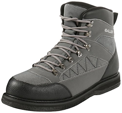 Allen Granite River Wading Boot, Felt Sole, (12' Gray Boots)