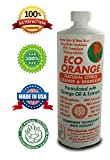 Eco Orange 32-Ounce Concentrate. Strongest All-Natural, All-Purpose Orange Citrus Cleaner. Makes 3-4 GALLONS after dilution. Non-Toxic, Allergy-Free, Eco-Friendly. Safe for Family, Pets.