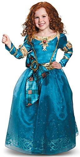 Disney King Fergus Costume (Disguise Merida Prestige Disney Princess Brave Disney/Pixar Costume, X-Small/3T-4T)