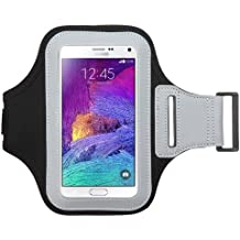 Avarious Neoprene Armband for Alcatel Flash (2017), 5.5-inch, Black