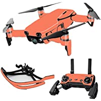 MightySkins Skin for DJI Mavic Air Drone - Solid Salmon | Max Combo Protective, Durable, and Unique Vinyl Decal wrap cover | Easy To Apply, Remove, and Change Styles | Made in the USA