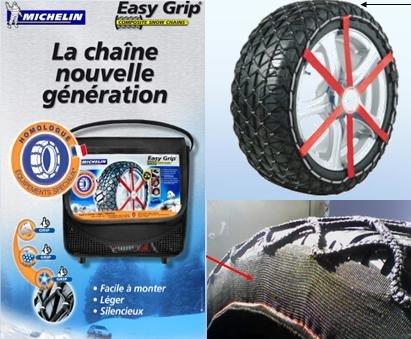 4x4 MICHELIN CUS7912 Easy Grip Schneeketten X13