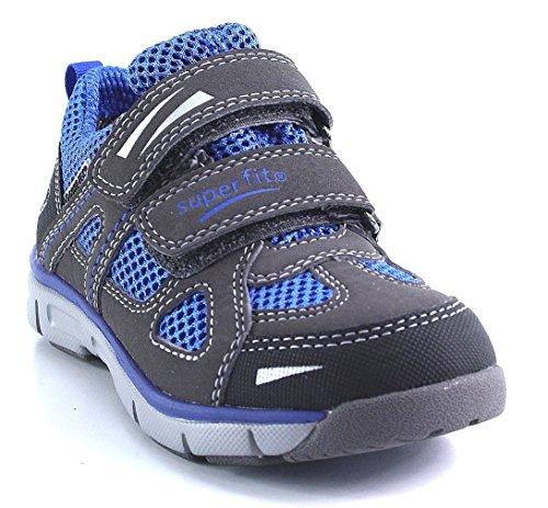 Superfit - Zapatillas de Piel para niño Azul azul Azul - azul