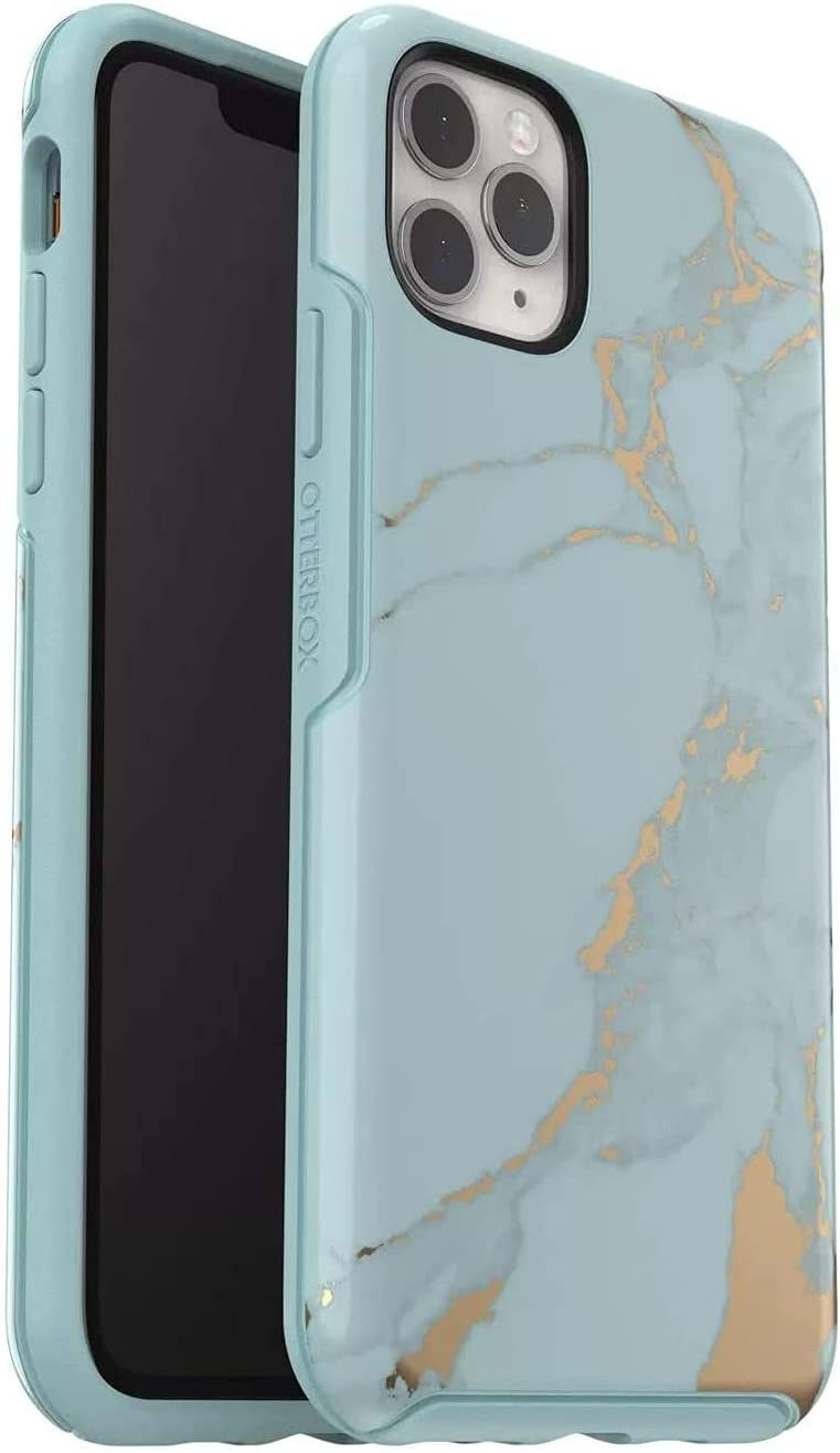 OtterBox Symmetry Series Case for iPhone 11 PRO (ONLY) Retail Packaging - Teal Marble