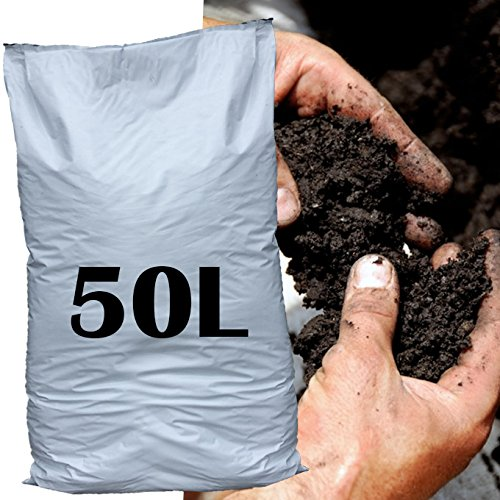 50L Organic Matter Soil Improver Conditioner Garden bed border grow feed plants Easy Plants