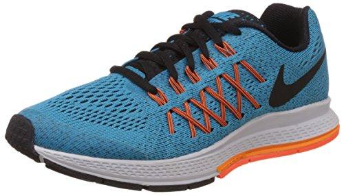 Nike Zoom Pegasus - Zapatillas para niño Azul / Naranja / Blanco