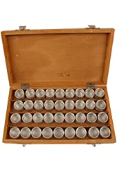 Wood Box 36 Tin Storage Box Compartment Organizer For Small Items