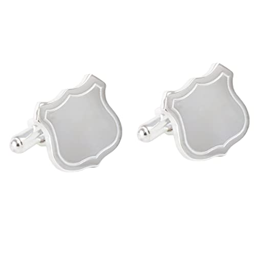 Personalized, Engraved Police Badge Cufflinks