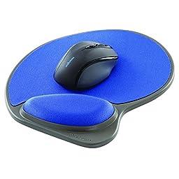 Kensington Memory Foam Mouse Wrist Pillow in Blue (K62817US)
