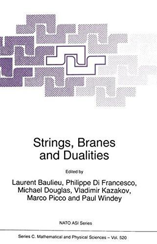 Strings, Branes and Dualities (Nato Science Series C:)
