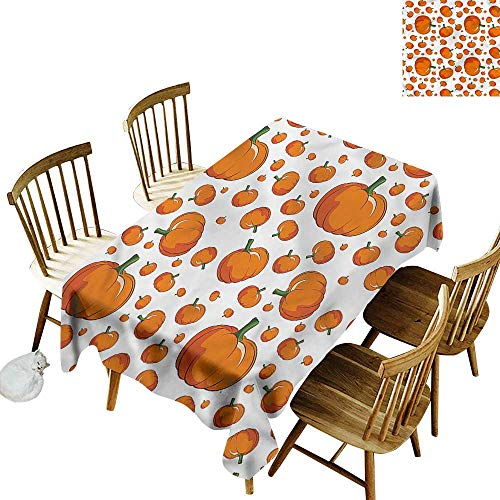 Tablecloth for Kids/Childrens Pumpkin Halloween Festival Symbol Party Decorations Table Cover Cloth 54