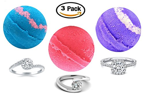 Ring Bath Bombs Surprise Purple product image