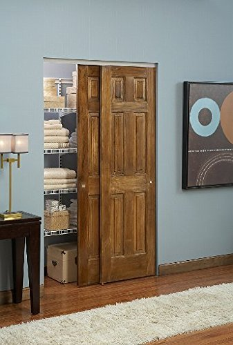 100SD Sliding Bypass Door Hardware (96 In. Length 2 Door System) by Johnson Hardware (Image #5)
