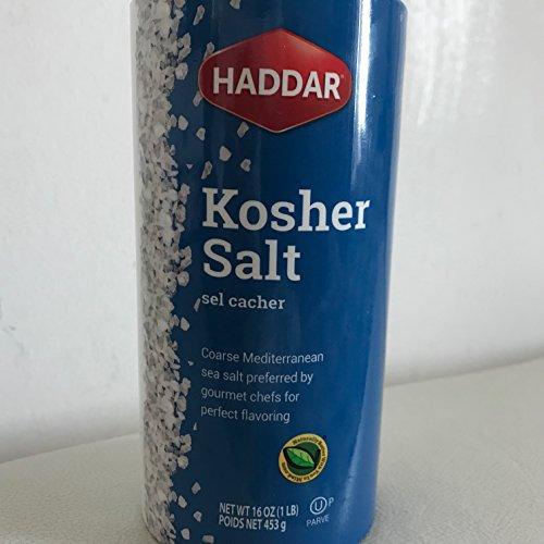 Haddar Kosher Salt 16 oz by Haddar
