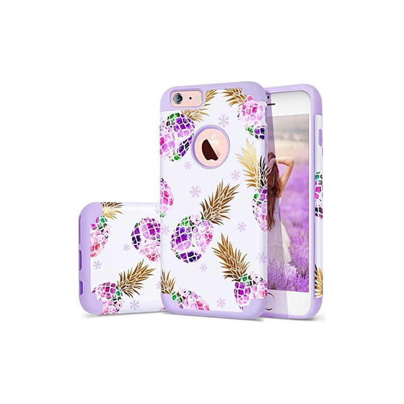 6S Plus Case,iPhone 6 Plus Case Purple,F
