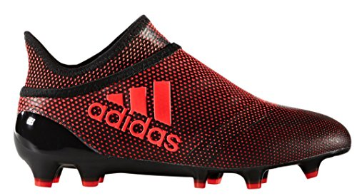 adidas X 17+ Purespeed FG Junior Soccer Cleats (5.5, Core Black/Infrared/Warning) (Adidas F30 Cleats Soccer)