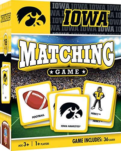 MasterPieces NCAA University of Iowa Hawkeyes Matching Game