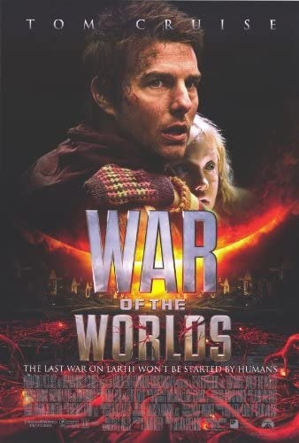 War of the Worlds Film advertising Poster reproduction