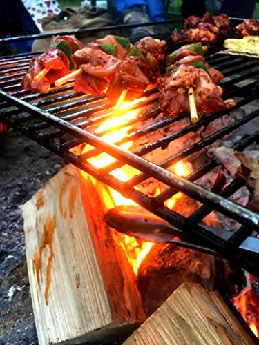 The NEW Original The Perfect Campfiregrill Steel 51cm x 64cm Camp Fire Grill
