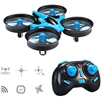 JJRC H36 Mini 2.4GHz 4CH 6 Axis Gyro Headless Mode / Speed Switch RC Quadcopter (Blue)