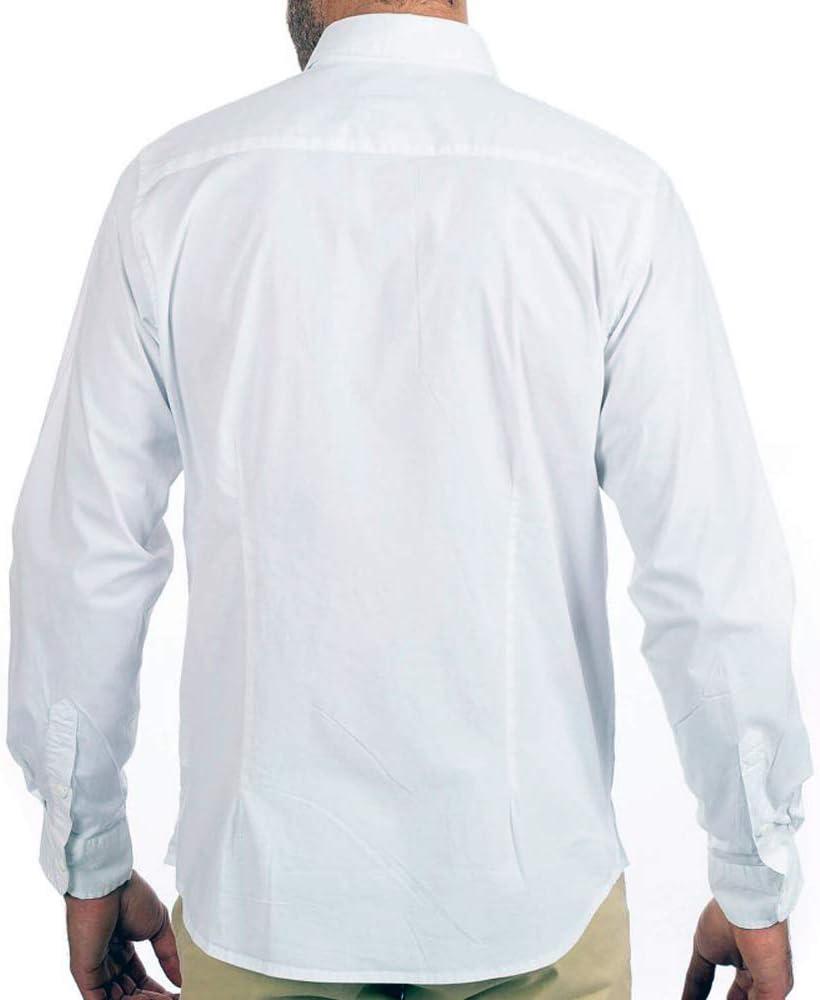 Shilton - Camisa Formal - para Hombre Blanco L: Amazon.es: Ropa y accesorios