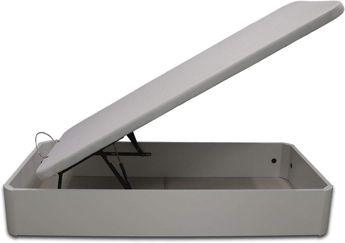 Gran Capacidad Madera Blanca Medidas 105 x 190 cm Ventadecolchones Canap/é Abatible de Madera