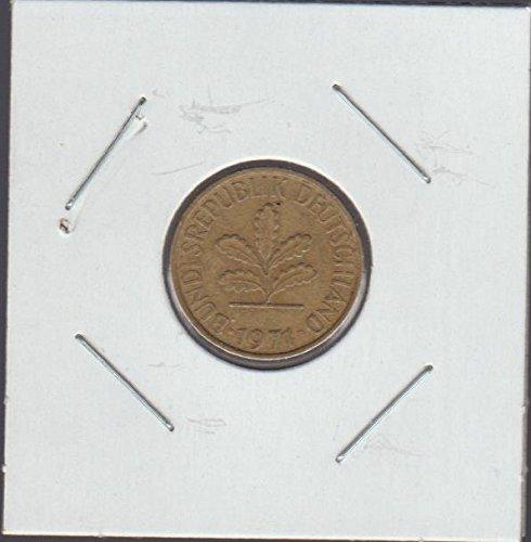 1971 Germany Five Oak Leaves Nickel Choice Fine ()