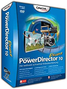 Cyberlink PowerDirector 10 Deluxe - Software de video