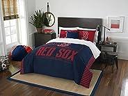 MLB Boston Red Sox Full Comforter and Sham Set, Full/Queen