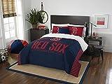 The Northwest Company MLB Boston Red Sox Grandslam Full/Queen Comforter and 2 Sham Set