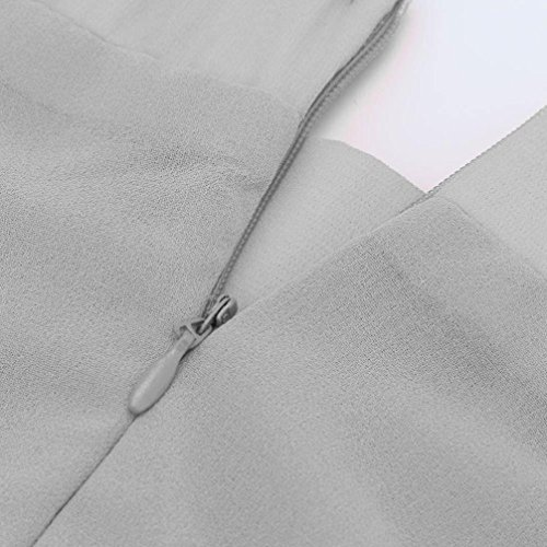 Alberar - Falda - trapecio - para mujer gris