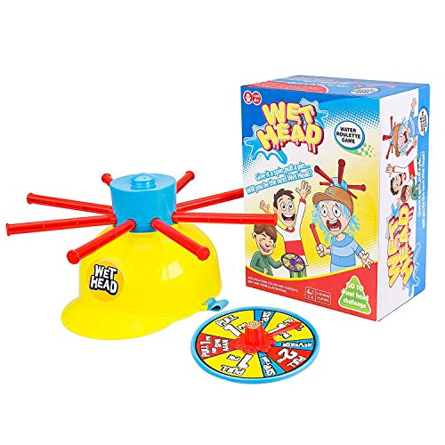 Gvoo Wet Head Game, Funny Wet Hat Water Challenge Roulette Game Prank Game Toys for Family, Halloween Party, Holiday, and Outdoor Activity