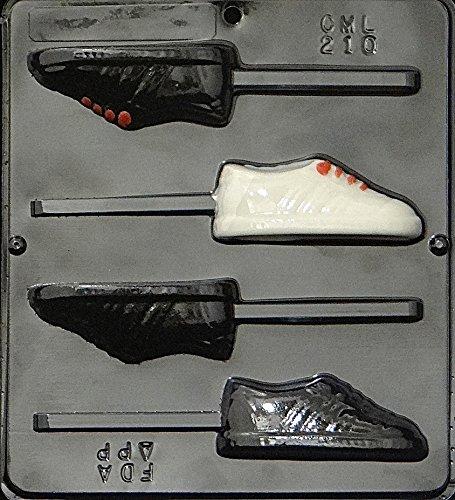 Sneaker Lollipop Chocolate Candy Mold 210