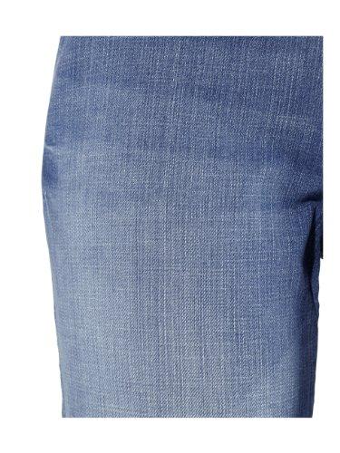 HIS Damen Jeans Ausgewaschenes Hellbau 34 Weite 31 Länge