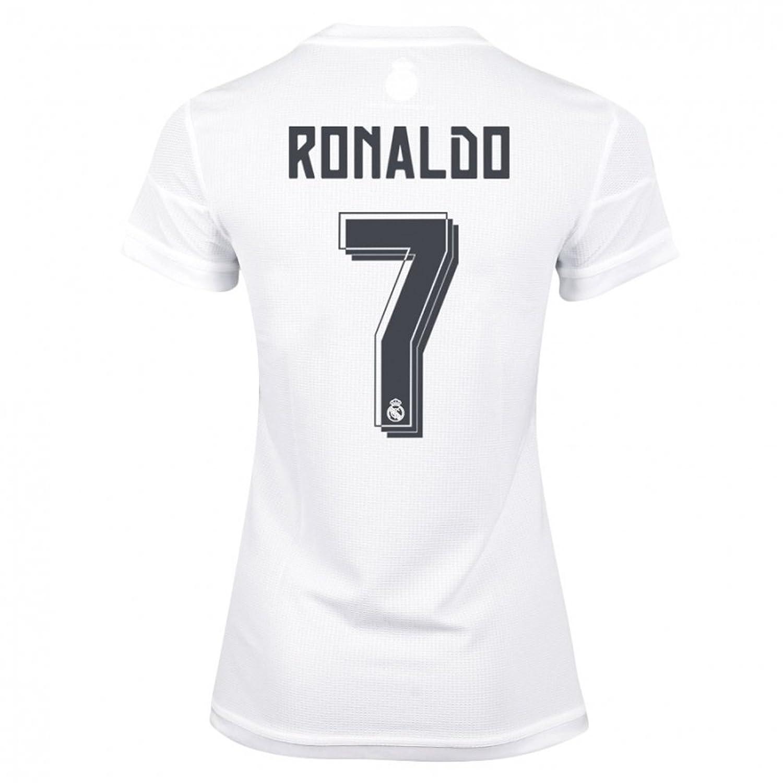 94642984e9ffb Amazon.com : Adidas Ronaldo #7 Real Madrid Women's Soccer Home ...