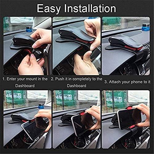 Rui Peng 携帯電話スタンド - 車の電話ホルダーダッシュボードマウントユニバーサルクレードル携帯電話クリップGPSブラケット携帯電話ホルダースタンド