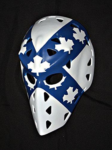 1:1 Custom Vintage Fiberglass Roller NHL Ice Hockey Goalie Mask Helmet Wayne Thomas - Mask Vintage Goalie