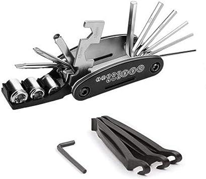Gububi Kit de Herramientas de reparación de Bicicletas, 16 en 1 ...