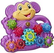 Playskool Mono Stack 'n Spin Monkey Gears - Juguete para niños de 9 Meses en adelante (Exlusivo de Ama