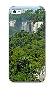 fenglinlinOscar M. Gilbert's Shop Awesome Case Cover Compatible With Iphone 5c - Iguazu Waterfalls
