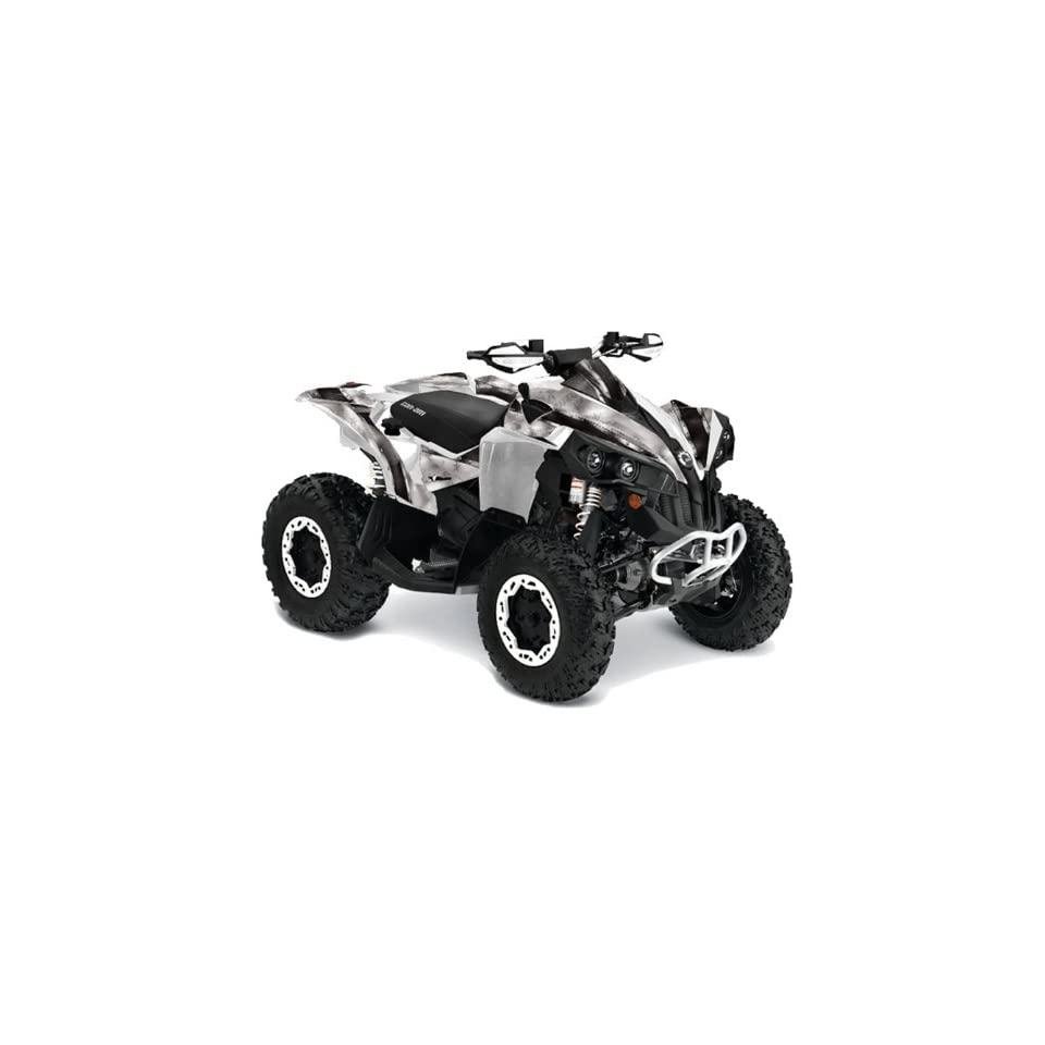 AMR Racing Can Am Renegade 800x 800r ATV Quad Graphic Kit   Bullet Proof Black