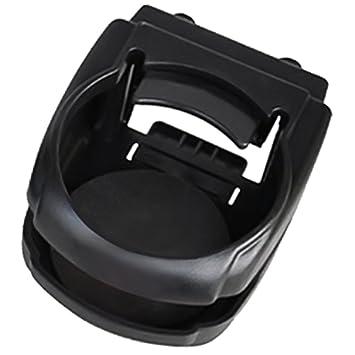 Vococal - Montaje del Ventilación de Aire con Clip Plástico Portavasos Soporte de Teléfono Celular para la Mayoría de Coches (Negro): Amazon.es: Electrónica