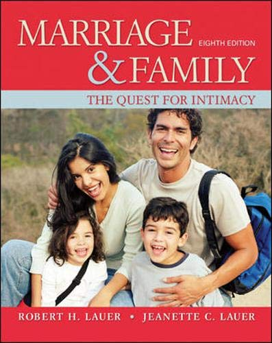 Marriage and Family: The Quest for Intimacy by Brand: Humanities Social Sciences